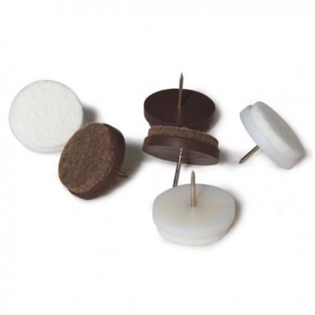 Feltrini con chiodo varie misure for Feltrini per sedie