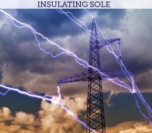 insulating sole