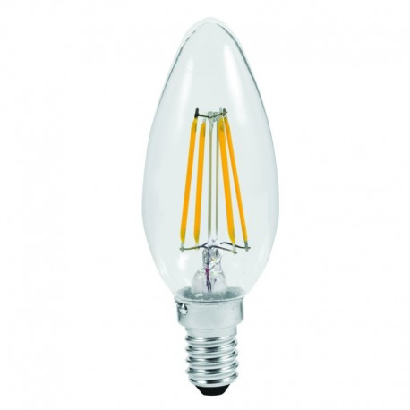 LAMPADA A LED FILAMENTO - CANDELA- 4W