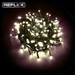 CATENA DI NATALE 77 LED REFLEX GIOCHI DI LUCE DIGITAL CON CONTROLLER 24V - COLORE LUCE CALDA