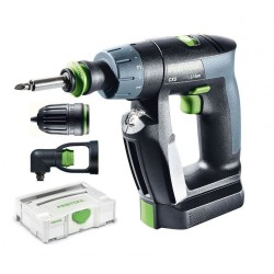 Trapano Avvitatore a Batteria Litio 2,6 Ah CXS Set Festool