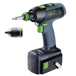 Trapano Avvitatore Batteria Litio 5,2 Ah T 15+2 Plus Festool