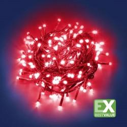 CATENA LUMINOSA 180 MINILUCCIOLE LED CON CONTROLLER 24V - LUCE ROSSO