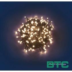 CATENA 180 MINILUCCIOLE LED REFLEX A BATTERIA CON CONTROLLER - LUCE CALDA
