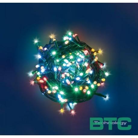 CATENA 180 MINILUCCIOLE LED REFLEX A BATTERIA CON CONTROLLER - MULTICOLOR