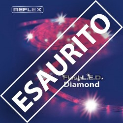 TUBO LUMINOSO 8M LED REFLEX FLASHLED GIOCHI DI LUCE ROSSO DIAMOND
