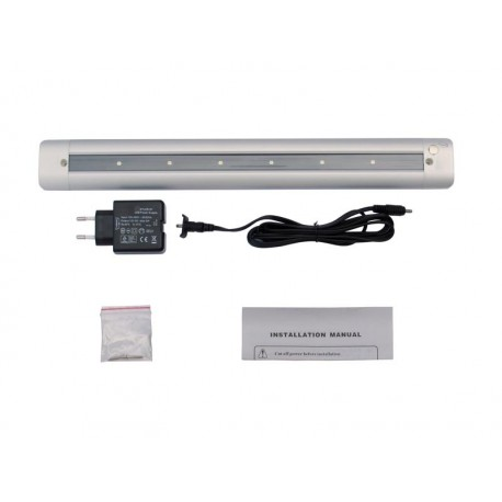 Sottopensile LED Touch luce naturale, 41 cm, 3W (6 led x0,5W) 120 lumen