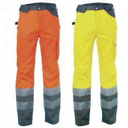 Pantaloni da lavoro ad alta visibilità Cofra Ray