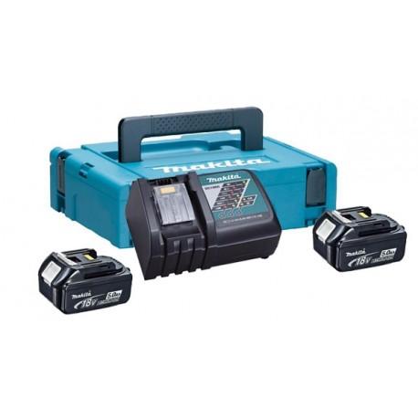 Kit energy Makita 18V batterie 5,0 Ah con caricabatterie