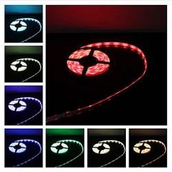 STRISCIA LED SMD5050 RGB DA 5M CON 300LED, 75WATT 12VOLT,